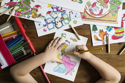 a cosa serve disegnare bambini
